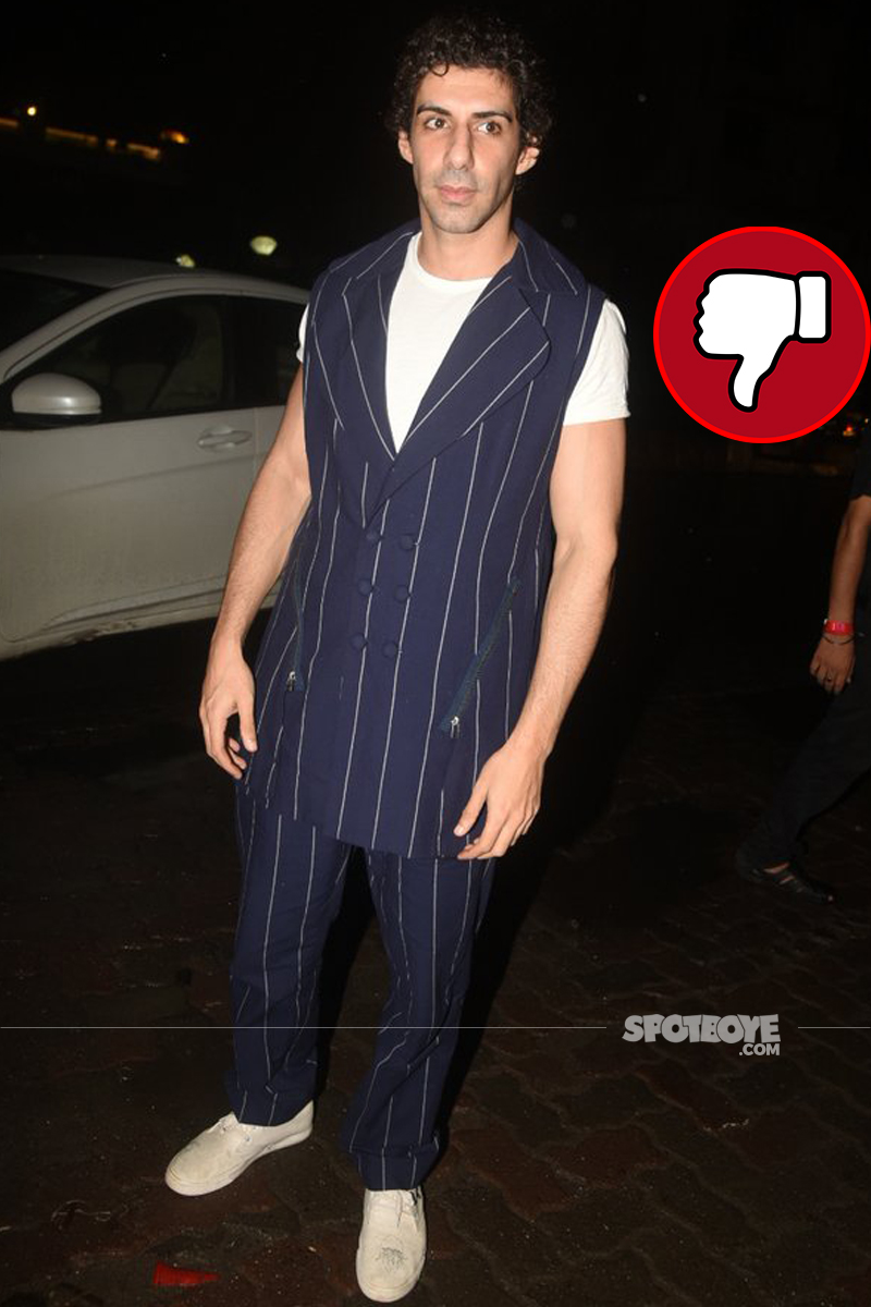 jim sarbh also spotted at an event
