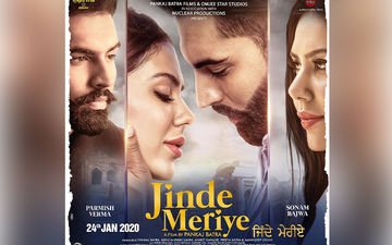 Jinde Meriye First Look Poster: Parmish Verma And Sonam Bajwa Look Oh-So-In-Love
