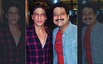 Jitendra Joshi Is Overwhelmed After Meeting Shahrukh Khan