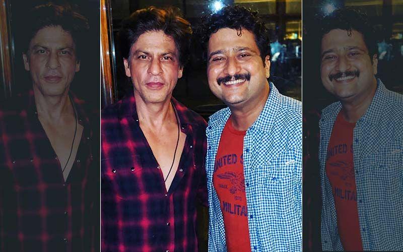 Jitendra Joshi Is Overwhelmed After Meeting Shahrukh Khan