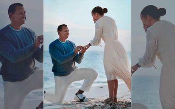 Jennifer Lopez Spills The Beans On Fiancé Alex Rodriguez's Romantic Marriage Proposal – Watch Video