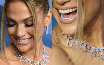 Hi There, Jennifer Lopez Wore Diamonds Worth 9 Million Dollars To The SAG 2020 Red Carpet – PICS