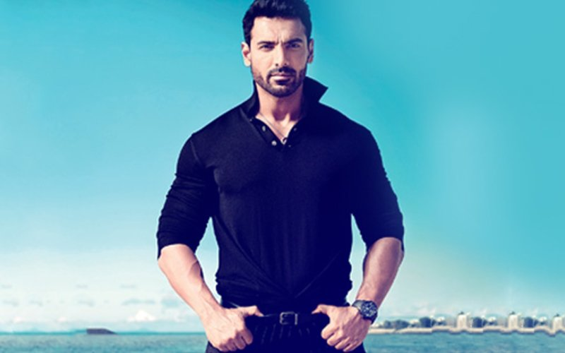 John Abraham Back In Mumbai After Sandy Parmanu Schedule In Jaisalmer