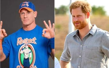 WWE Wrestler And Fast And Furious 9 Star John Cena Shares A Cool Graffiti Of Prince Harry Along With An Important Message