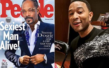 Snoop Dogg Replaces John Legend's Photo With His Own To Declare Himself The 'Sexiest Man Alive'
