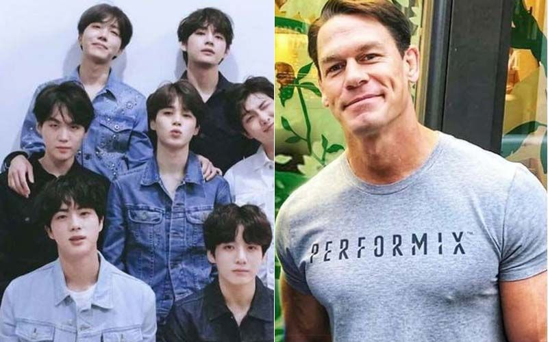 After Getting Married To Shay Shariatzadeh, WWE Star John Cena Posts About K-Pop Sensation BTS' Agency's Eye-Popping Market Value