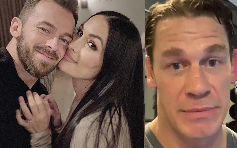 Here's How Nikki Bella's Fiance Artem Chigvintsev Reacted To John Cena Texting Nikki After She Gave Birth To Son Matteo