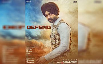 Singer Jordan Sandhu Next Song 'Defend' Released