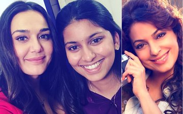 "When Juhi Chawla's Daughter Gave Preity Zinta A ""Run For Her Money"""