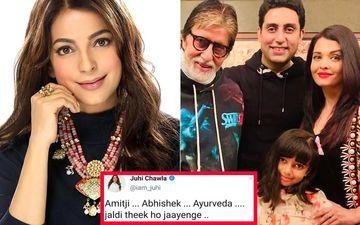Juhi Chawla Deletes Tweet After Netizens Troll Her For Calling Aishwarya's Daughter Aaradhya 'Ayurveda'; Actress Explains It Wasn't A Typo