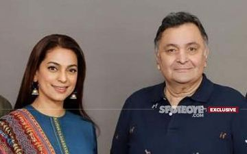 Rishi Kapoor Death: Superstar's On-Screen Reunion With Juhi Chawla INCOMPLETE But Just The Last Schedule- EXCLUSIVE
