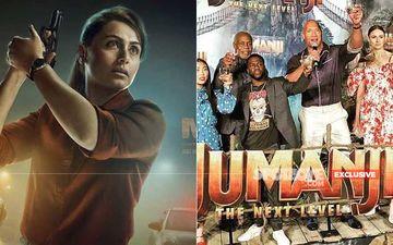 Mardaani 2 Box-Office Early Prediction: Rani Mukerji Starrer To Remain Unaffected Despite Clashing With Jumanji
