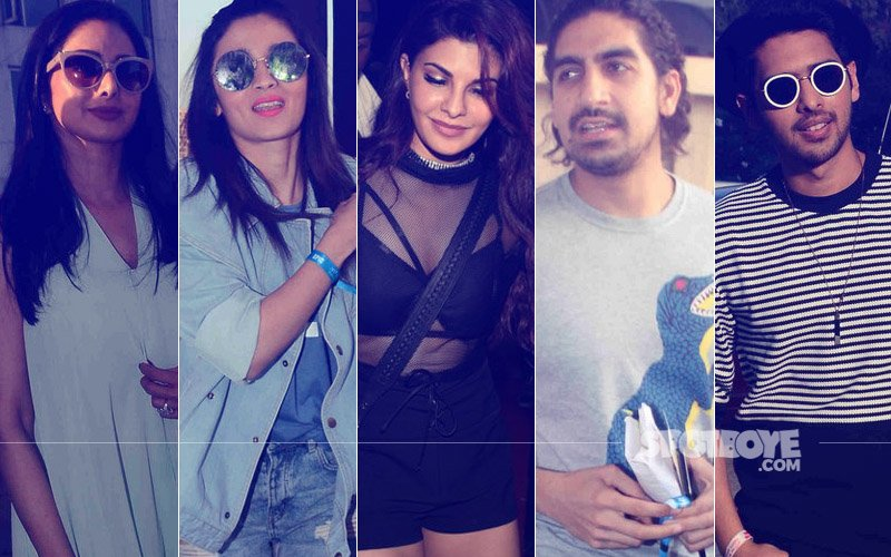 SPOTTED: Sridevi, Alia Bhatt, Jaqueline Fernandez, Ayaan Mukerji, Armaan Malik And Many More At Justin Bieber's Concert