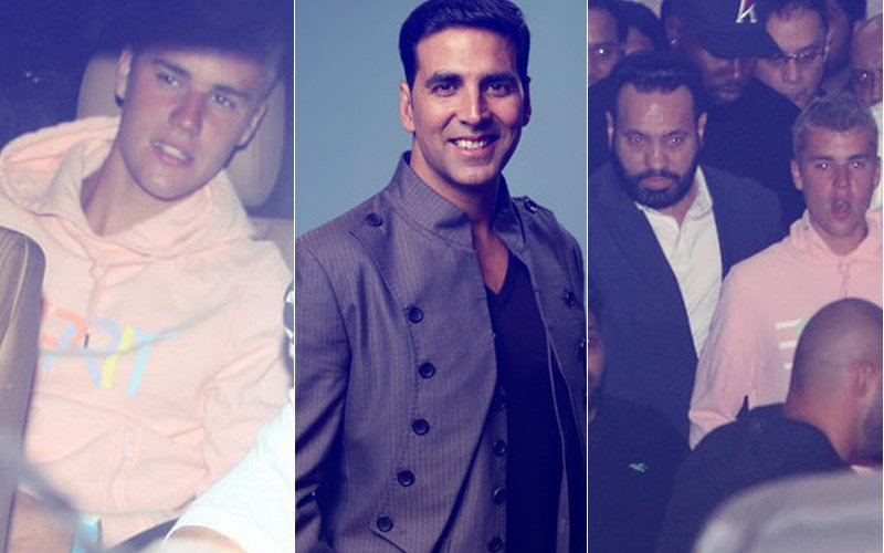 Justin Bieber Lands In Mumbai Late Night, Hours Before Fans Confuse Akshay Kumar For Him