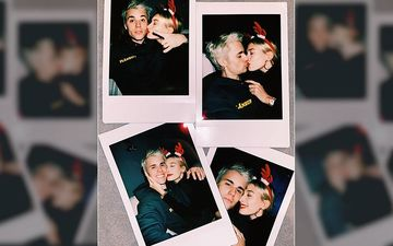 Hailey Baldwin And Justin Bieber Share A Sweet And Love Soaked Christmas Kiss