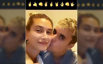 Coronavirus Lockdown: Justin Bieber Plants A Passionate Kiss On Hailey Baldwin's Cheek As They Try The Emoji Dance Challenge