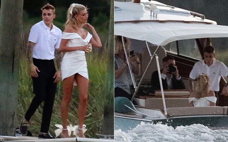 Justin Bieber And Hailey Baldwin Wedding Rehearsal Dinner Video LEAKED; The Couple Arrive On A Speedboat