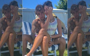 Justin Bieber Poses With Wife Hailey Baldwin In His Lap, Gushes Over Her: 'I Still Can't Believe You Chose Me'
