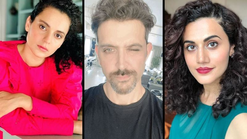 Team Kangana Ranaut Takes A Dig At Hrithik Roshan For Wishing Taapsee Pannu A Happy Birthday; Says, 'Taapsee Is Collecting The Crumbs'