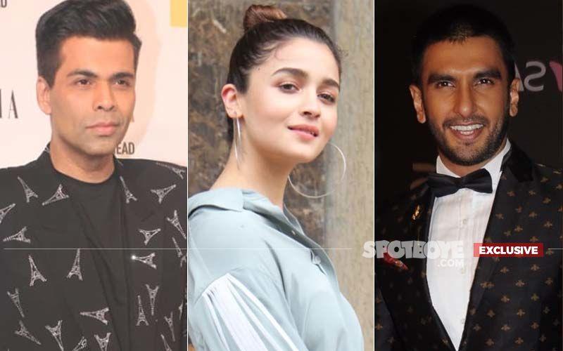 No Prem Kahani, Karan Johar Laughs Off The Reports Of Getting Alia Bhatt And Ranveer Singh For A Film- EXCLUSIVE