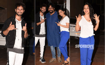 Shahid Kapoor-Kiara Advani Celebrate Success Of Kabir Singh Teaser