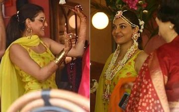 Kajal Aggarwal Wedding: Ahead Of Her D-Day Actress Shines Brighter Than A Sun At Her Haldi Ceremony- INSIDE PICTURES