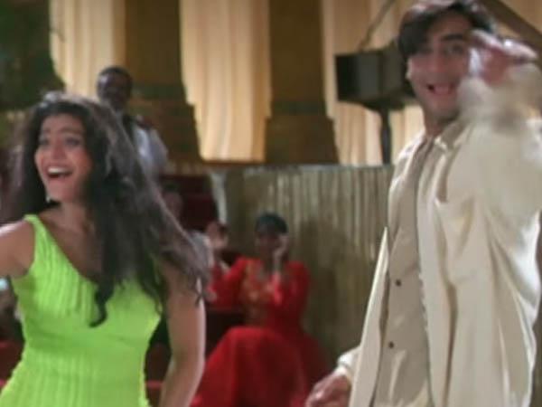 kajol and ajay devgn groove to the tunes of neend churai meri from ishq