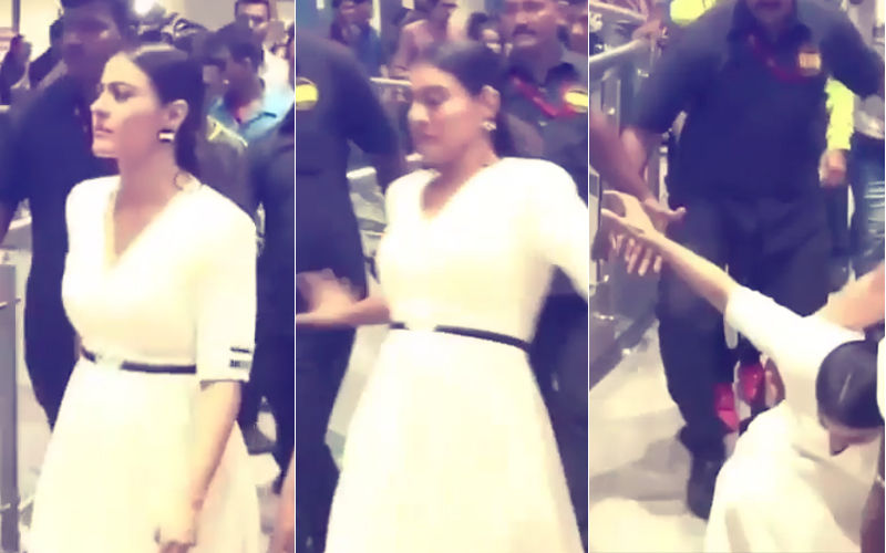 Video: Oops! Kajol Slips While Walking In A Mall