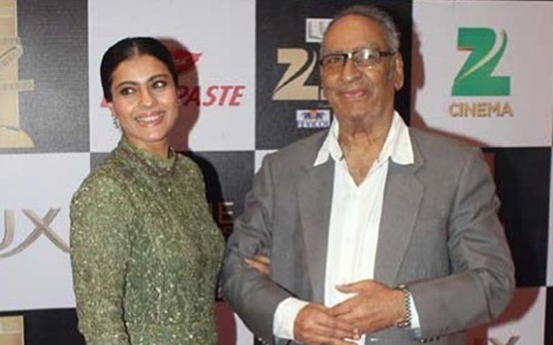 Kajol Pens a Heartwarming Message In Remembrance Of Her Late Father-In-Law Veeru Devgan