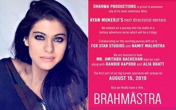 Kajol's 'Son' Is Now Karan Johar's Assistant Director For Brahmastra