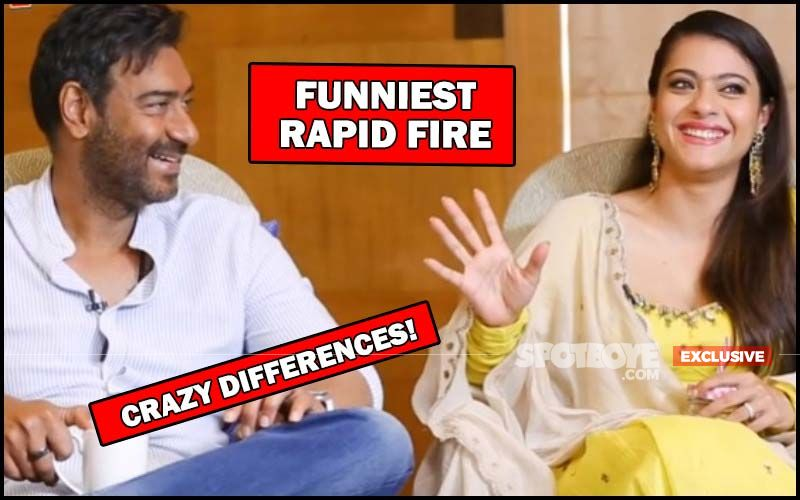 Ajay Devgn And Kajol's FUNNIEST RAPID FIRE: CRAZY DIFFERENCES REVEALED- EXCLUSIVE