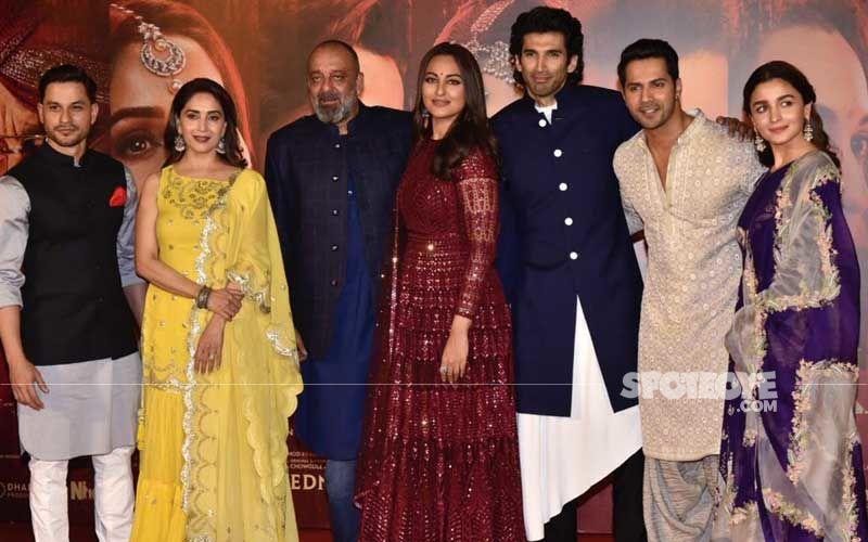 Alia-Varun, Sonakshi-Aditya, Madhuri-Sanjay Launch Kalank Trailer Amidst Much Fanfare