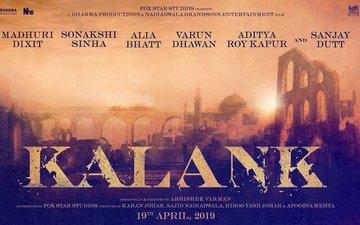 Shiddat Is Now Kalank: Sanjay, Madhuri, Alia, Varun, Sonakshi & Aditya Starrer Poster Out