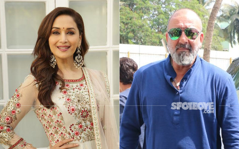 "Kalank Shoot: Madhuri Dixit Felt No ""Re-Bonding"" Or ""Awkwardness"" With Sanjay Dutt"