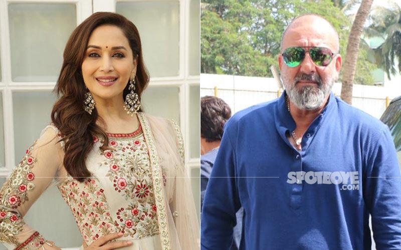 "Kalank Shoot: Madhuri Dixit Felt No ""Re-Bonding"" Or ""Awkwardness"" With Sanjay Dutt"