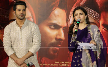 "Kalank Trailer Launch: Alia Bhatt Says She Hasn't Ruined Anyone's Life; Varun Dhawan Quips, ""We Don't Know!"""