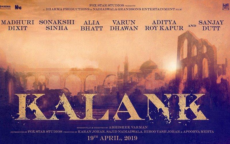 Confirm! 21 साल बाद संजय और माधुरी करने जा रहे हैं फिल्म 'कलंक' में स्क्रीन शेयर