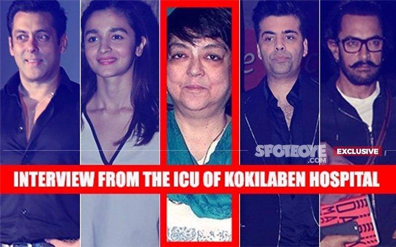KALPANA LAJMI BATTLING FOR LIFE: Talks About Salman, Aamir, Alia, KJo Helping Her