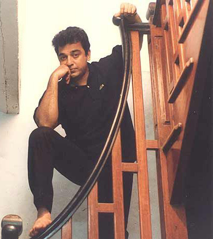kamal haasan poses for a photo shoot