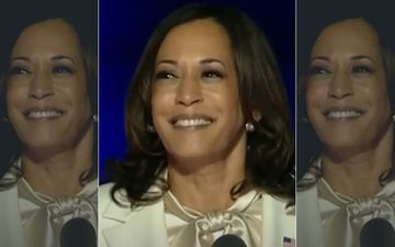 After Her Victory, US Vice President-Elect Kamala Harris Says She Is Grateful To Her Mother Shyamala: 'She Is Most Responsible For My Presence Here'