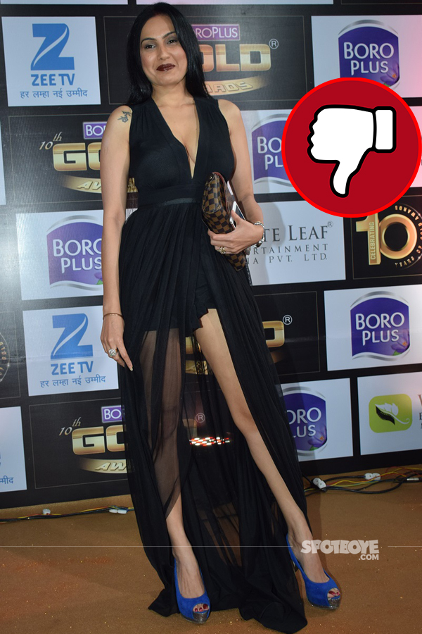 kamya punjabi at gold awards 2017