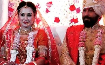 Kamya Panjabi Wedding FIRST PICS: Ex-Bigg Boss Contestant Ties The Knot With BF Shalabh Dang; Looks Insanely Gorgeous In Red Lehenga