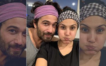 Kamya Panjabi Virtually Works Out With Husband Shalabh Dang; Actress Says, 'Love Makes You Do Things That You'd Never Do'