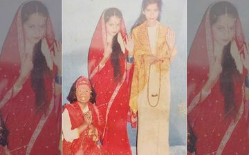 While Indians Are Obsessed With Ramayana Rerun, Rangoli Shares Kangana Ranaut's Childhood Pic As Sita In Her School Play