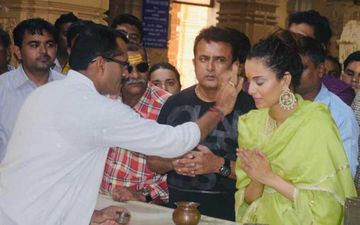 Kangana Ranaut Looks Divine As She Performs Pooja at Somnath Temple: Watch Video