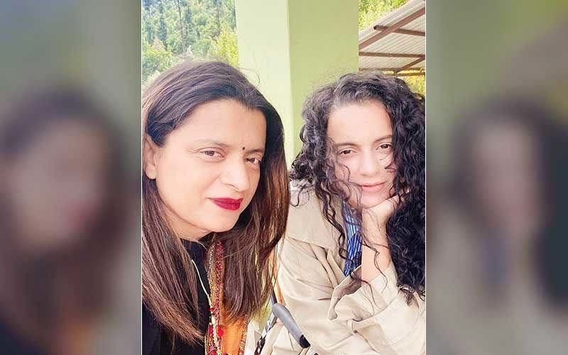 Kangana Ranaut And Her Sister Rangoli Chandel Are Back To The Bay; Actress Arrives At Mumbai Airport Amid Tight Security