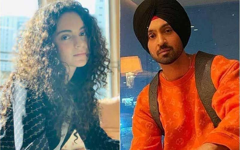 Diljit Dosanjh Shuts Kangana Ranaut After She Asks 'What You Don't Like About The Farm Bill'; Diljit Says, 'Sara Din Tu Yaad Kardi Rehni An Mainu'