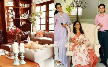 Kangana Ranaut's Décor For Rangoli's Warm, Cosy Home Sets An Example For 'Vocal For Local', Makes Optimum Use Of Local Materials- PICS