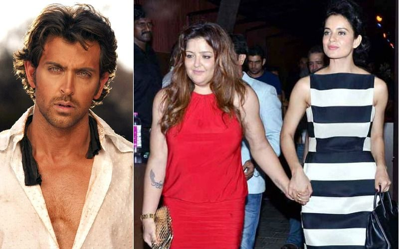 "Hrithik Roshan's Sister Sunaina Stands Up For Kangana Ranaut, ""I Support Her All Through"""