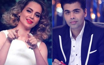 Kangana Ranaut To Shoot With Karan Johar For India's Next Superstars